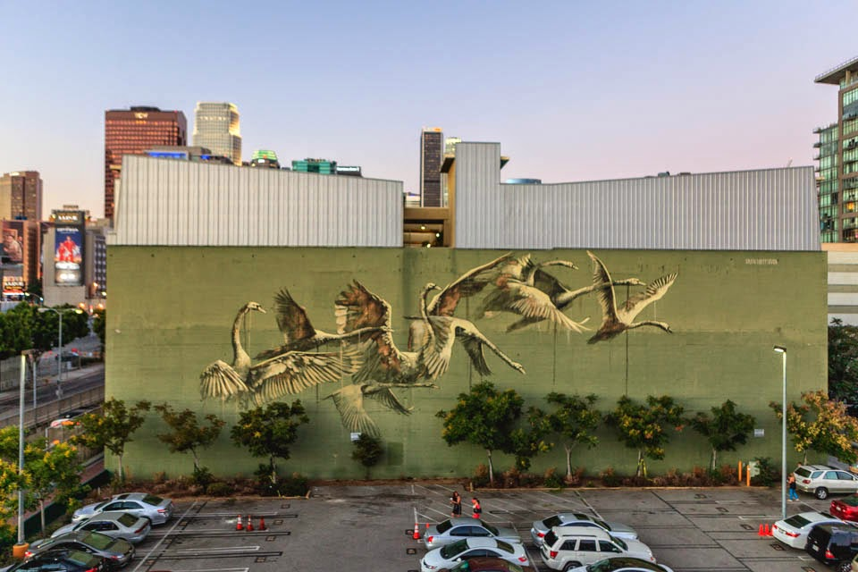 Faith47 New Mural – Los Angeles, USA