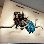 Snik New Indoor Mural For Crossover '13 – Amsterdam, Netherlands