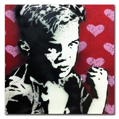 """Rene Gagnon """"I'm a Fighter Not a Lover"""" New Print Available Now"""