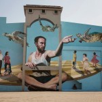 Martin Ron unveils a new mural in Penang, Malaysia
