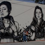 "Fin DAC x Angelina Christina ""The Slithereens"" New Street Art – Denver, USA"