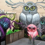 Jeff Soto & Maxx242 create a new mural in Downtown Riverside, California
