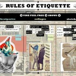 "VinZ ""Rules Of Etiquette"" Amsterdam Solo Shows July 14th"