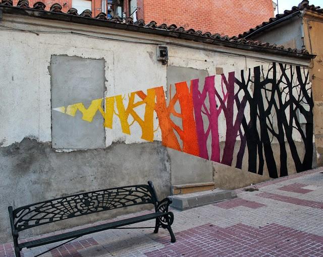 Pablo S. Herrero x E1000 New Murals In Pizarrales – Salamanca, Spain