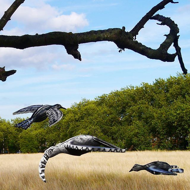 "Phlegm's ""The Forest"" Project in Epping Forest, UK"