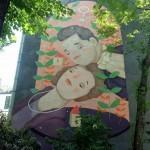 Frau Isa New Mural – Vienna, Austria