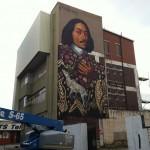 Gaia x Freddy Sam New Mural in Johannesburg, South Africa