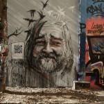 Herakut paints a new piece in Paris for Proj256