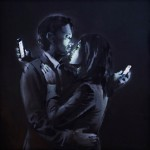 "Banksy ""Mobile Lovers"" New Mural – Bristol,UK"