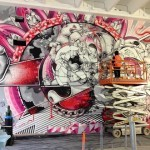 Library Street Collective Indoor Mural Project (How Nosm, Sainer…) – Detroit, USA