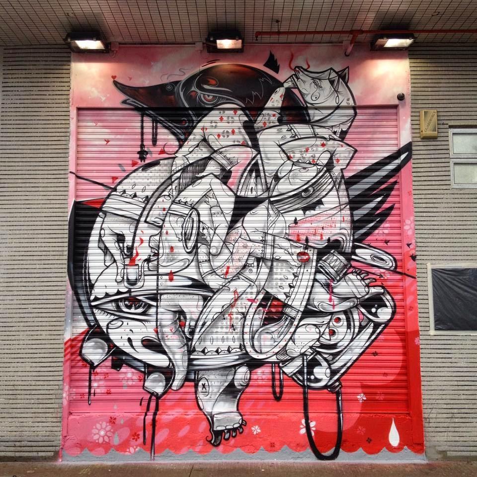 How & Nosm New Murals – Hong-Kong, China