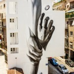"iNO ""Wake Up"" New Mural – Athens, Greece"