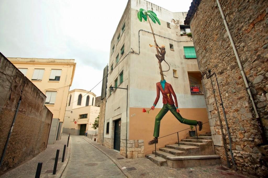 Interesni Kazki New Mural – Girona, Spain