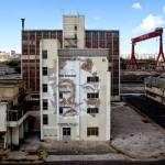 Vhils New Mural – Lisbon, Portugal