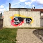 Ben Slow New Mural – Vitry, France
