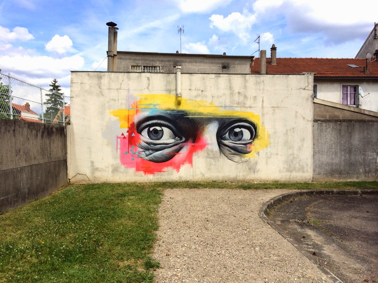 Ben Slow New Mural – Vitry, France