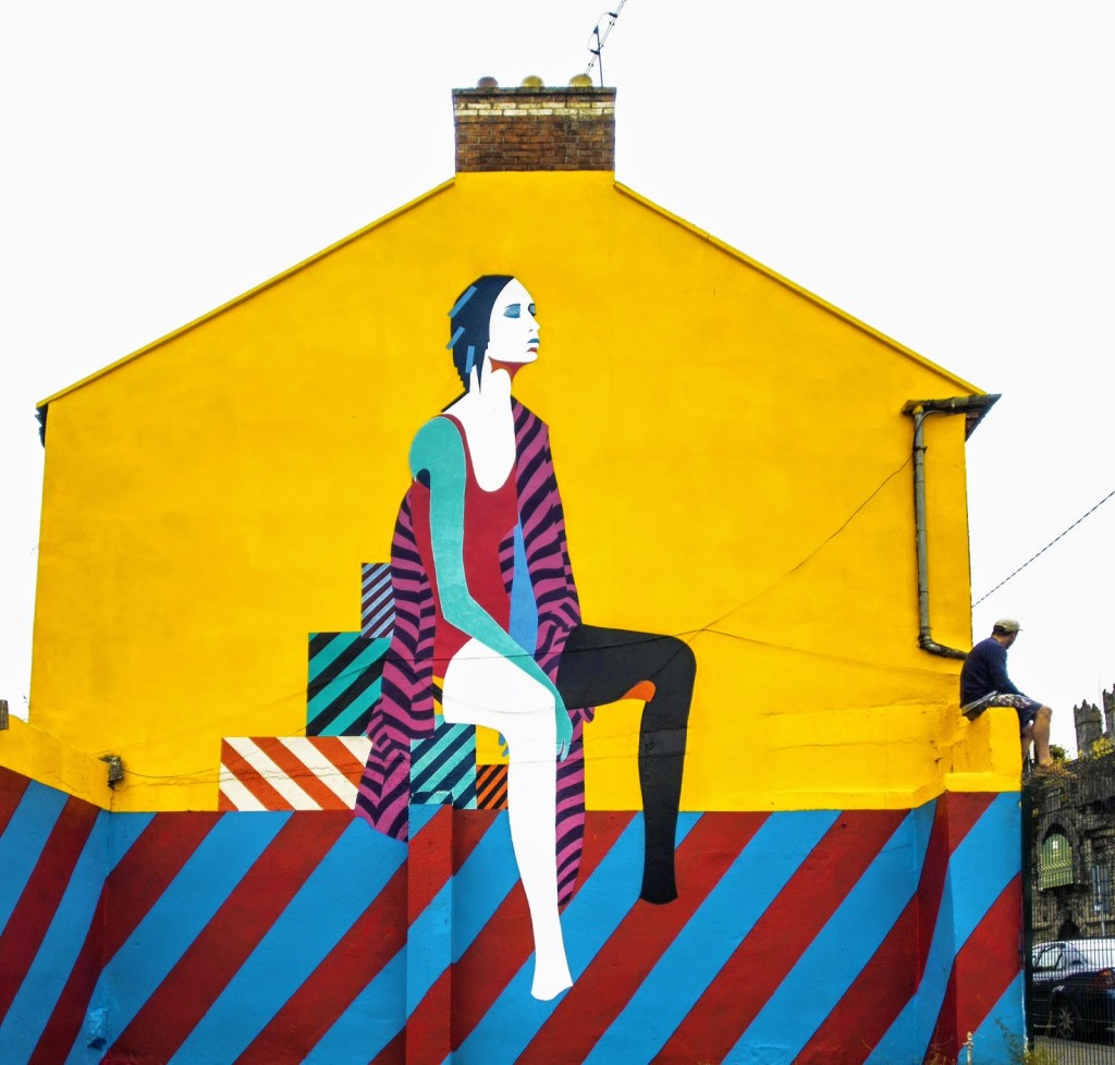 Maser New Mural – Limerick, Ireland