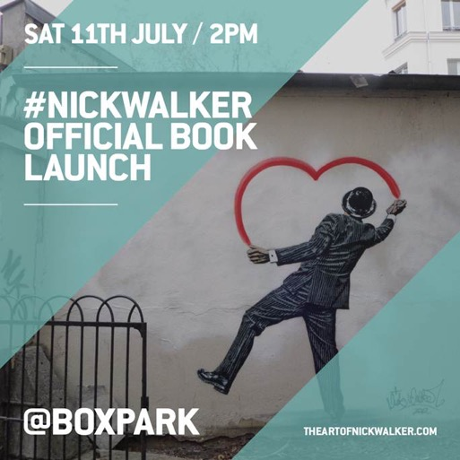 "Nick Walker ""The Art Of Nick Walker"" London Book Launch – July 11th"