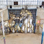 "DZIA unveils ""Brothers"", its latest mural in Turin, Italy"