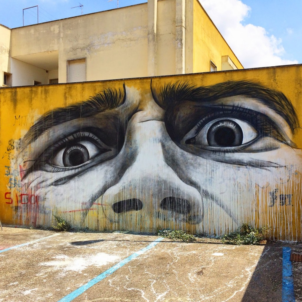 Ben Slow New Mural For ViaVai – Casarano, Italy