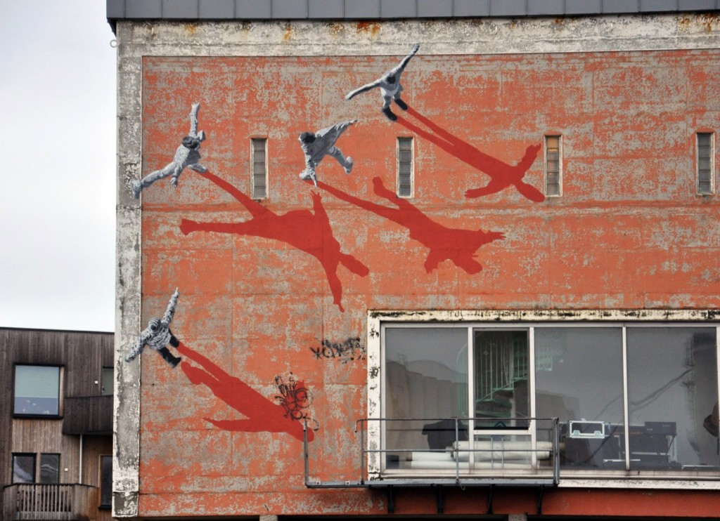 Strøk New Mural For Nuart 2014 – Stavanger, Norway