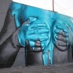 """INSA New """"Graffiti Fetish Mural"""" for LA Freewalls Projects"""