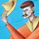 Interesni Kazki New Mural In Progress, Mexico
