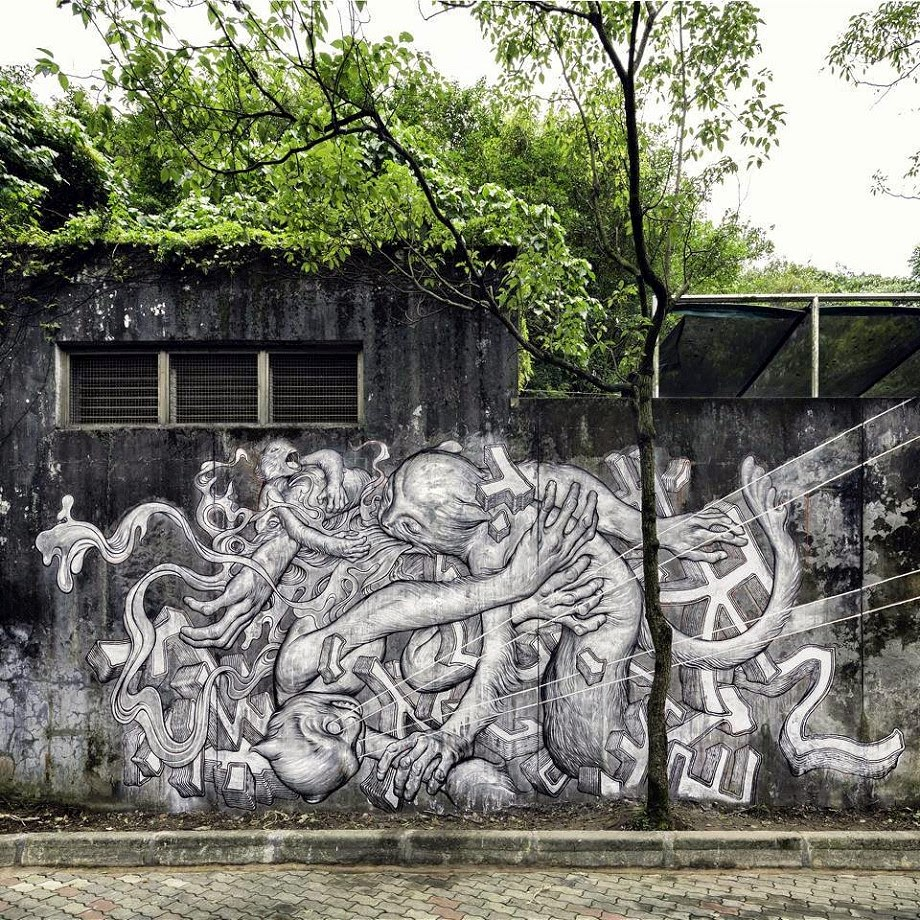 James Jean New Mural For POW! WOW! Taiwan! – Taipei, Taiwan