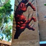 "JAZ ""Moving Forward"" New Mural – Perth, Australia"