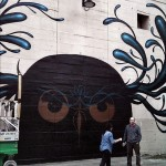 Jeff Soto New Mural In Progress, Richmond