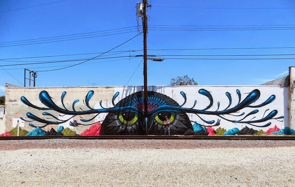 Jeff Soto New Mural – Los Angeles, USA