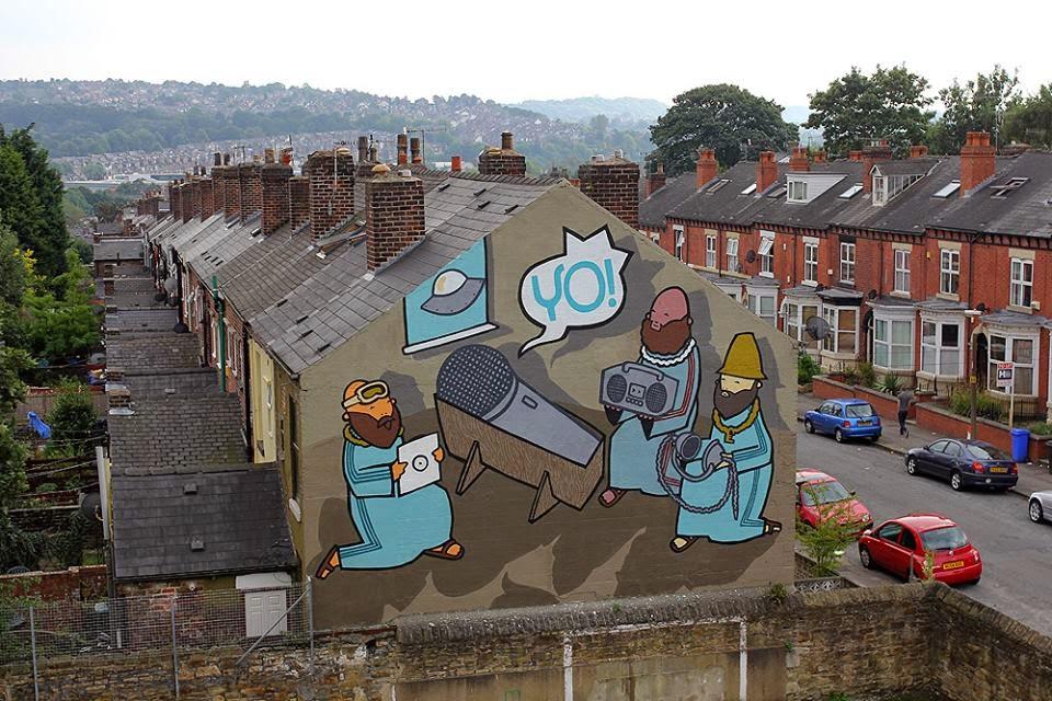 Kid Acne New Mural – Sheffield, UK