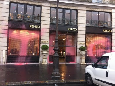Kidult Hits Kenzo Stores In Paris, France