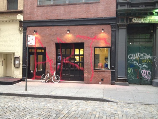 Kidult hits marc jacobs in new york city streetartnews for Craft stores in nyc