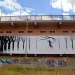 David De La Mano x Pablo S. Herrero New Mural – Ibiza, Spain