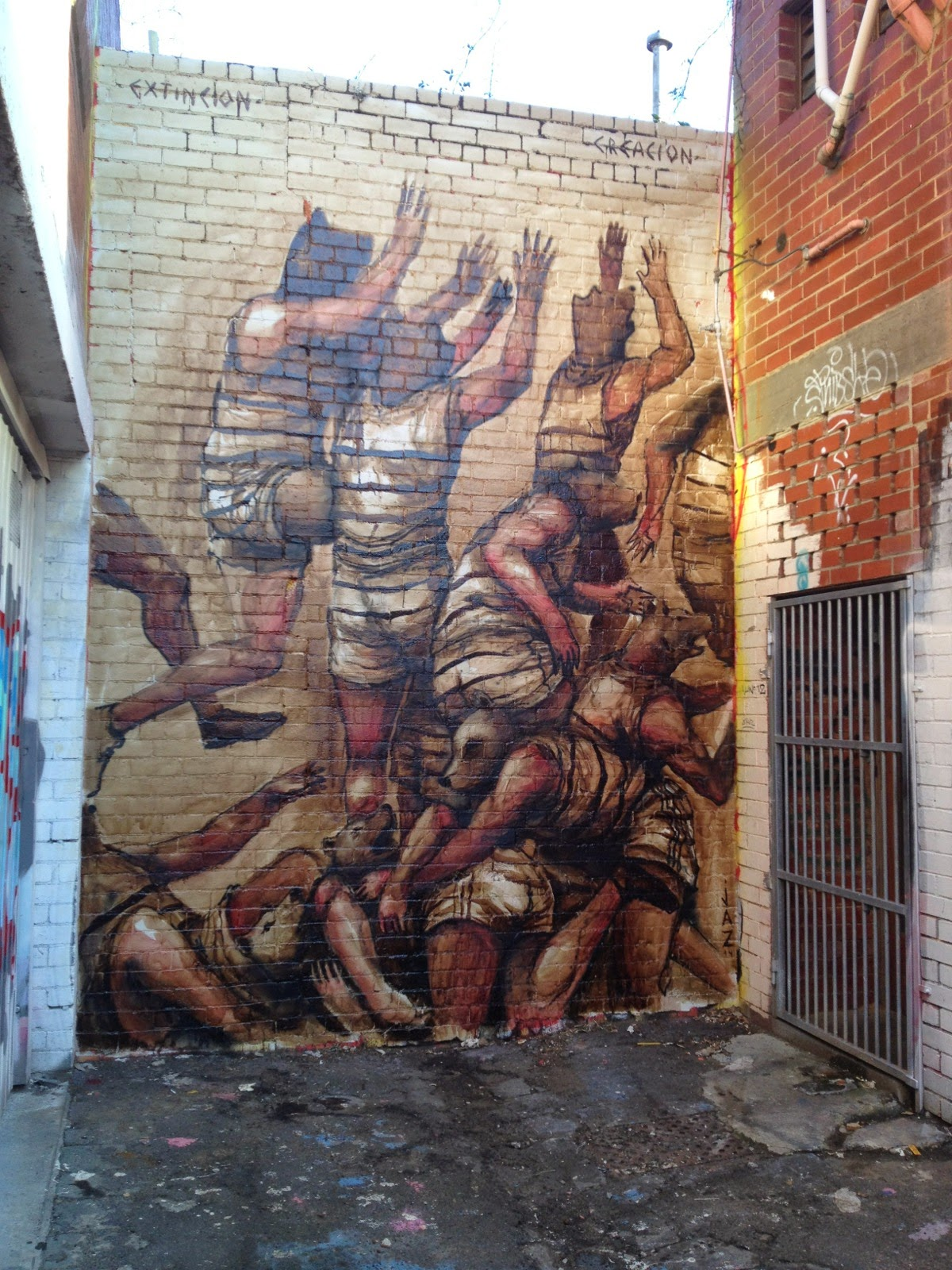 JAZ New Murals - Melbourne, Australia
