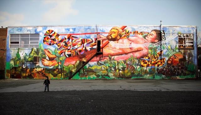 "Ever ""La Revolution Silencieuse"" New Mural For Do ArT Foundation - Montreal, Canada"