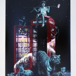 "Roamcouch ""London calling"" Limited Edition Screen Print – Available September 3rd"