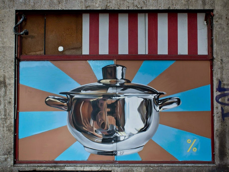 Lonac New Mural – Zagreb, Croatia