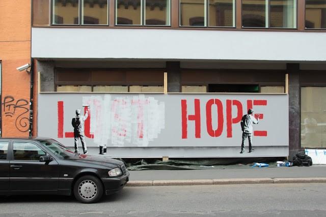 Martin Whatson New Murals In Oslo, Norway
