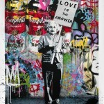 "Mr Brainwash ""Love Is The Answer"" New Print Available March 29th"
