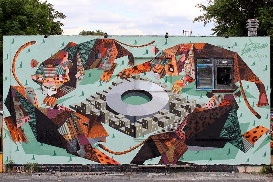 Low Bros New Mural – Berlin, Germany