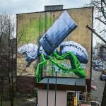 LUDO New Mural In Katowice, Poland