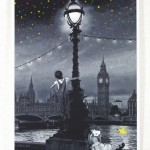 "Roamcouch ""When You Wish Upon A Star-London"" Limited Edition Screen Print"