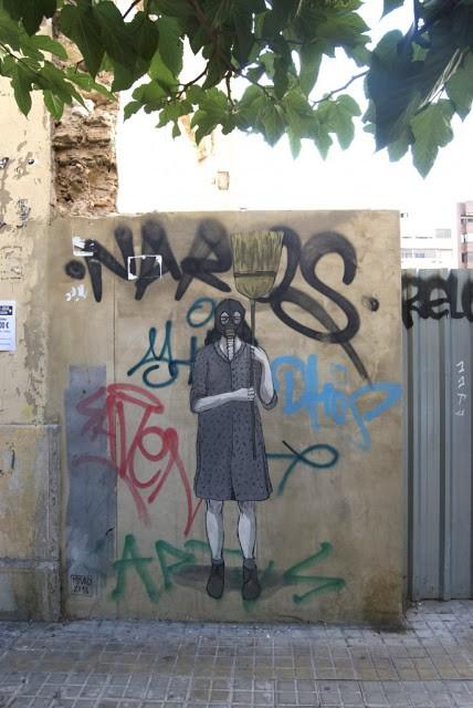 Hyuro New Street Piece In Valencia, Spain