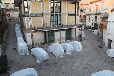 Brad Downey & Akay For Fame Festival 2011 Grottaglie, Italy