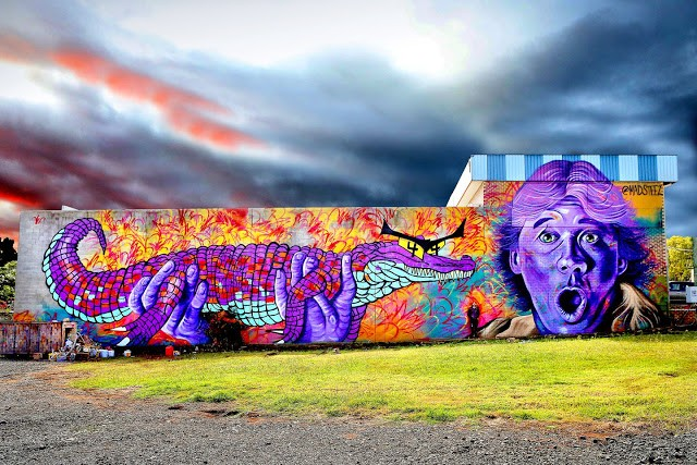 MADSTEEZ brings his magic to the streets of Toowoomba & Sydney in Australia