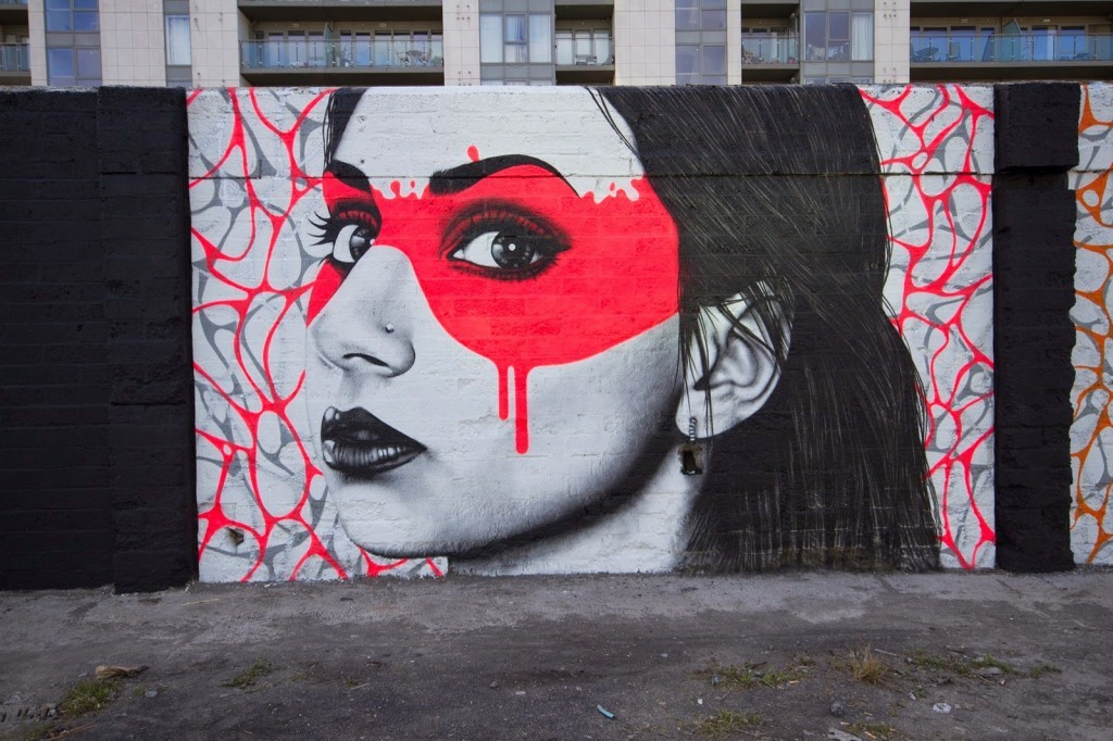 "Fin DAC ""The Magnificent 7"" New Mural – Dublin, Ireland"