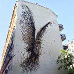 DALeast creates a new piece in Copenhagen, Denmark
