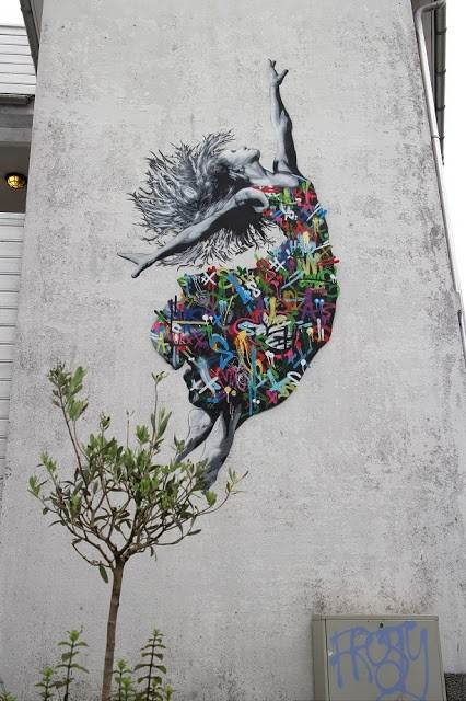 Nuart '15: A second mural by Martin Whatson in Stavanger, Norway